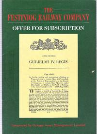 The Festiniog Railway Company. Offer for Subscription