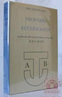 Proverbs, Ecclesiastes (Anchor Bible Series, Vol.  18)