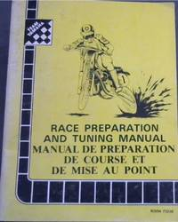 image of Race Preparation and Tuning Manual  /  Manual de Preparation de  Course et de Mise Au Point [English & French Text]