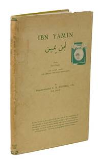 Ibn Yamin: Persice Ibn-i-Yamin, 100 Short Poems, The Persian Text with Paraphrase