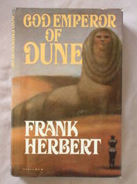 God Emperor of Dune by  Frank Herbert - First Edition - 1981 - from Mind Electric Books and Biblio.com