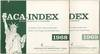 The ACA-Index. Second Session 90th Congress [and] The ACA-Index. First Session 91st Congress
