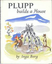 Plupp Builds A House by  Inga Borg - First Edition - 1960 - from Sparkle Books (SKU: 005303)