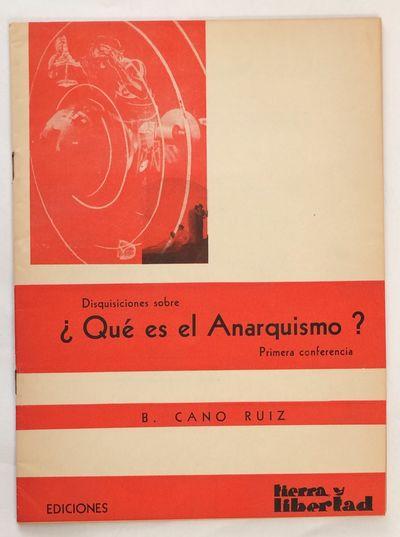 Mexico City: Ediciones Tierra y Libertad, 1960. 36p., staplebound pamphlet, 6.5 x 9 inches, very goo...