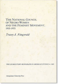 The National Council of Negro Women and the Feminist Movement, 1935-1975