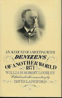 AN ACCOUNT OF A MEETING WITH DENIZENS OF ANOTHER WORLD 1871