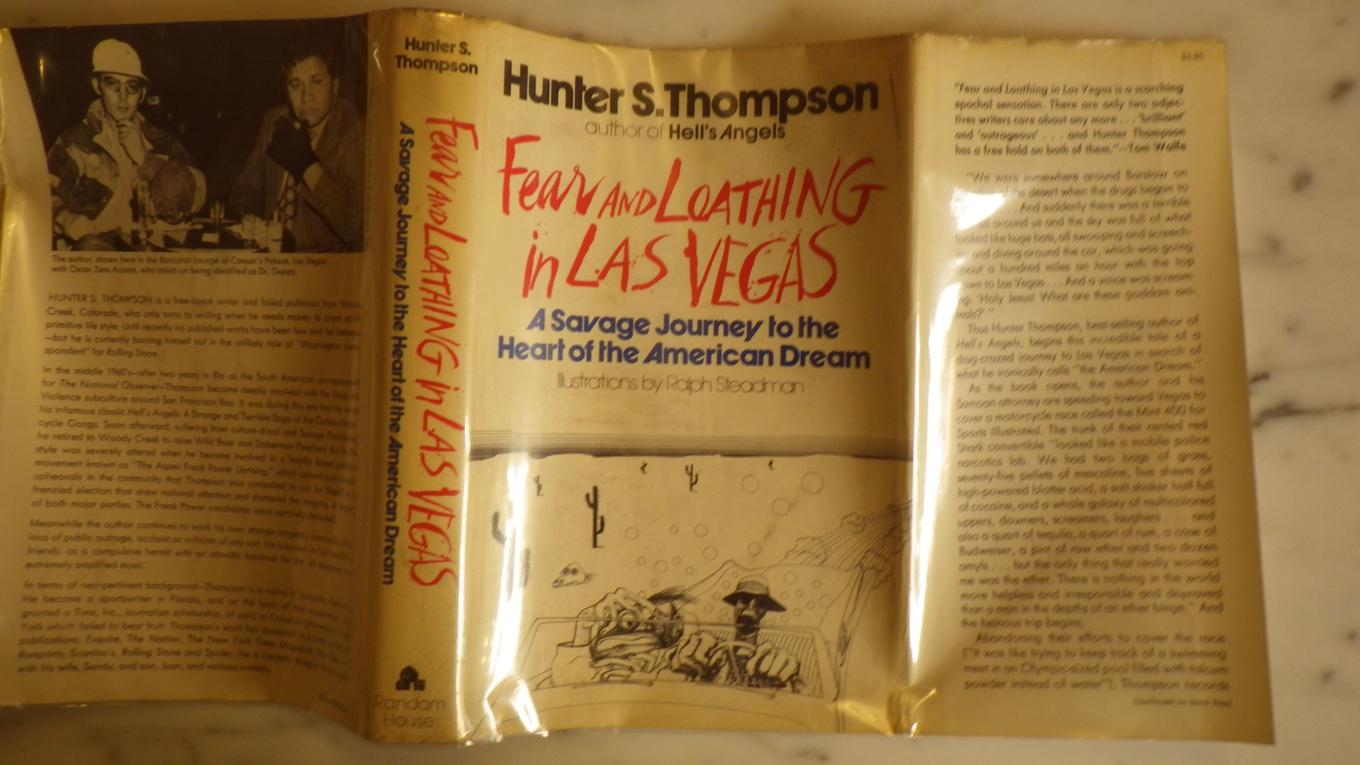 finding the american dream in hunter s thompsons book fear and loathing in las vegas The first sentence to hunter s thompson's seminal 1971 book fear and  loathing in las vegas: a savage journey to the heart of the american dream, a  book.