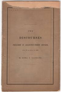Two Discourses preached in Arlington-Street Church July 12 and July 19, 1863