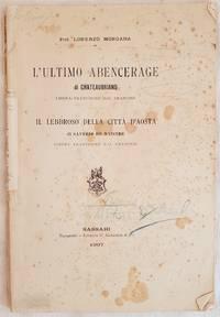 L'ULTIMO ABENCERAGE  DI CHATEAUBRIAND - IL LEBBROSO DELLA CITTA D'AOSTA