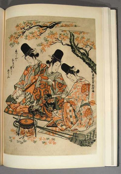 1942. (LEDOUX COLLLECTION). JAPANESE PRINTS OF THE LEDOUX COLLECTION. In five volumes. Vols. I & II:...