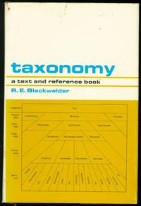 Taxonomy: A Text and Reference Book