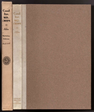 Boston: Little, Brown and Company, 1935. Limited Edition. Quarter Leather. Very Good. Brock, H. M.. ...