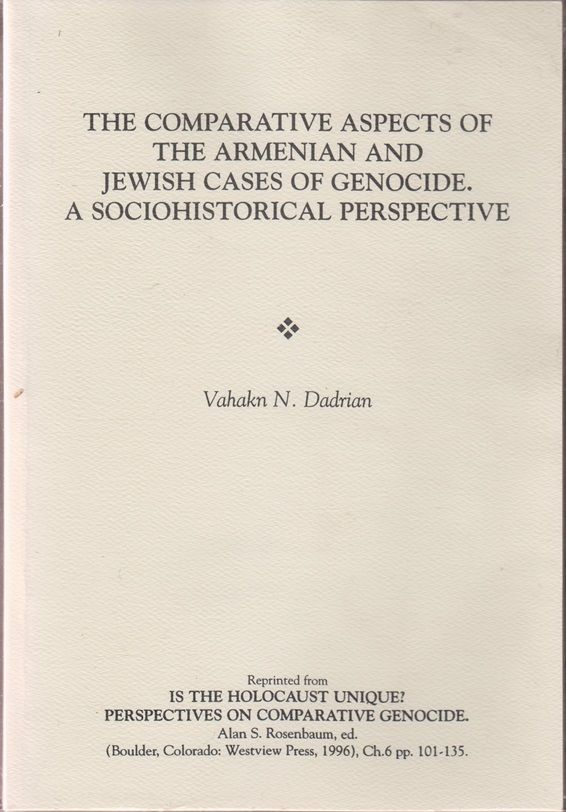 an examination of the armenian genocide Armenian genocide the 20th century was a time of change in human endeavors- including war the war to end all wars, world war i, occurred early in this time period.