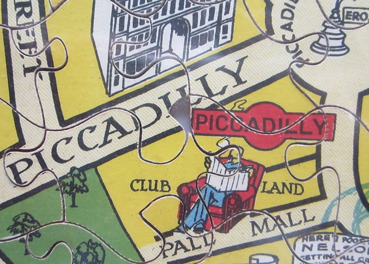 New Jig-Saw Puzzle: Pictorial Map of London. (photo 6)