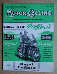 image of Motor Cycling. June 26, 1958.
