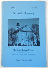 image of The 200th Anniversary Brochure of The Swamp Reformed Church and Its Organizations, Blainsport, Pennsylvania