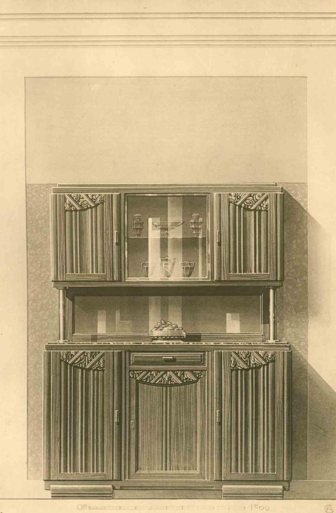 Meuble H Et H meubles et décors modernes de léon caillet, architecte-décorateurleon  caillet - hardcover - from bernett penka rare books and biblio