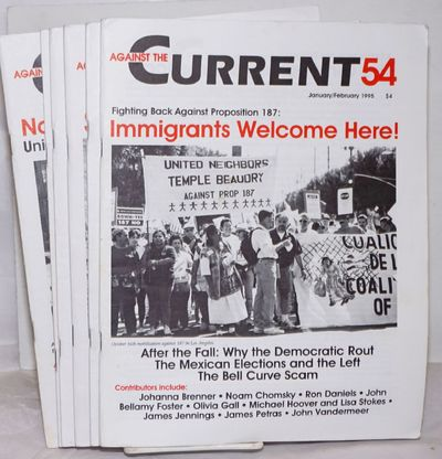 Detroit: Center for Change, 1995. Magazine. Six issues of the bi-monthly magazine, a complete run fo...