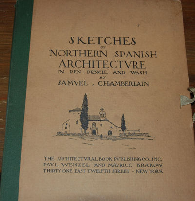 NY: Architectural Books Publishing, 1926. First Edition. Large 4to, a portfolio with sheets of heavy...
