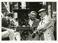 image of Three Seats for the 26th [Trois Places pour le 26] (Original photograph of Jacques Demy and Yves Montand from the set of the 1988 film)