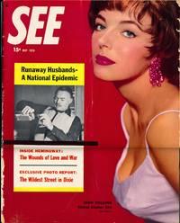 See (Vintage tabloid magazine, May 1956)