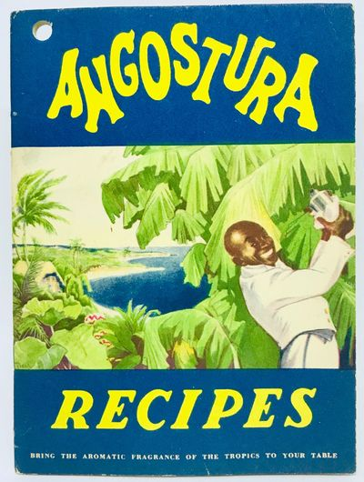 New York: Angustura-Wuppermann Corporation, 1934. Staplebound. Color illustrated wraps. 37 pages. 15...