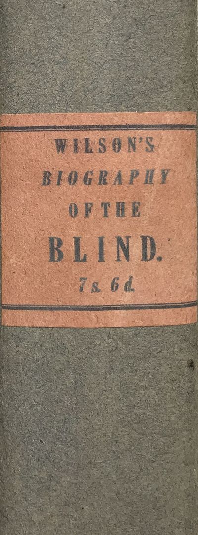 Biography of the Blind,