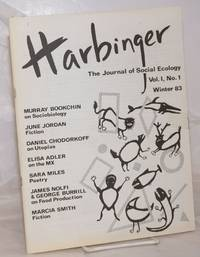image of Harbinger: The Journal of Social Ecology.  Vol. 1, No. 1, Winter '83