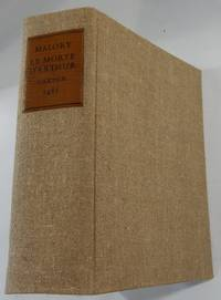 Le Morte D'Arthur Printed by William Caxton 1485