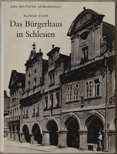 Tübingen: Ernst Wasmuth, 1966. Hardcover. Near fine/very good. pp 142 + 234 (plates) + 8 folding pl...