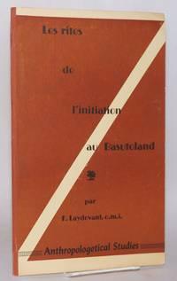 image of Les rites de l'initiation au Basutoland dans Anthropos, International Review of Ethnology_Linguistics