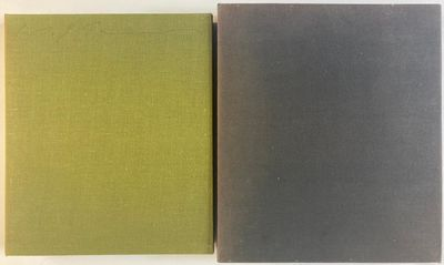 Bijutsu Shuppan-sha, 1972. Limited Edition, #62/2250. Hardcover. Quarto, 317 pages; VG; bound in blu...