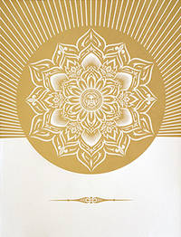 Obey Lotus Diamond (White & Gold).