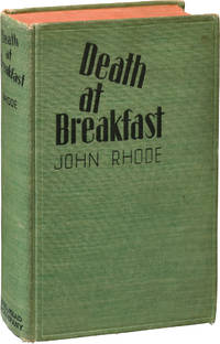 image of Death at Breakfast (First Edition)