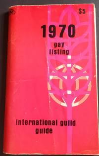 1970 International Guild Guide. Gay Listing