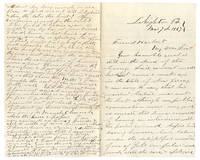 [AUTOGRAPH LETTER FROM TOURING PHRENOLOGIST TO WILLIAM S. HARBERT]