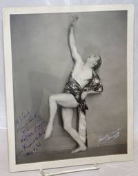 Wallace Bradley dance photo inscribed and signed in San Francisco August 6, 1921