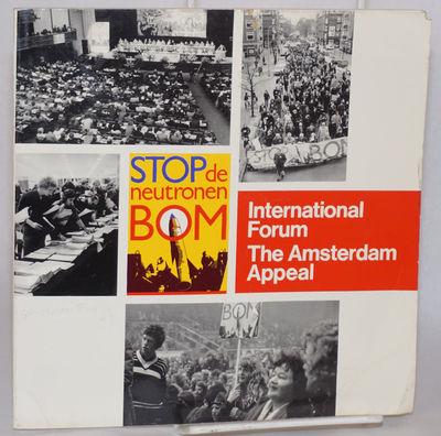 Amsterdam: International Forum