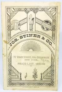 [GROCER] [NEW YORK] Price-List, 1880-81 71 Vesey Street, Cor. Greenwich, New York