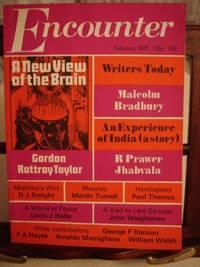 Encounter Magazine by Malcolm Bradbury; R. Prawer Jhabvala; Paul Theroux; Gordon Rattray Taylor; and Others - First Edition - 1971 - from Weysprings Books, IOBA, PBFA (SKU: 000266)