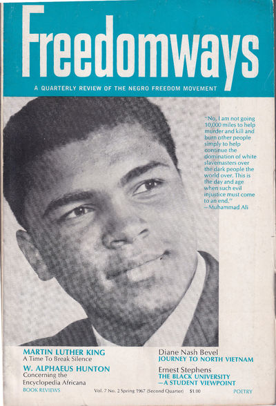 NY: Freedomways, 1967. Paperback. Very good. 101-192pp. Wraps are a bit rubbed and darkened, else ve...
