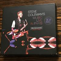 Steve Coleman's Music Live In Paris: 20th Anniversary Collector's Edition (4-CD Set)