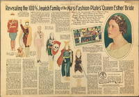 Newspaper Paper Doll of Hermann Goering  Comparing Wife, Emmy Sonnemann to the beautiful Jewess Esther, nice of Mordecai