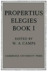 image of Propertius: Elegies Book I: Book 1