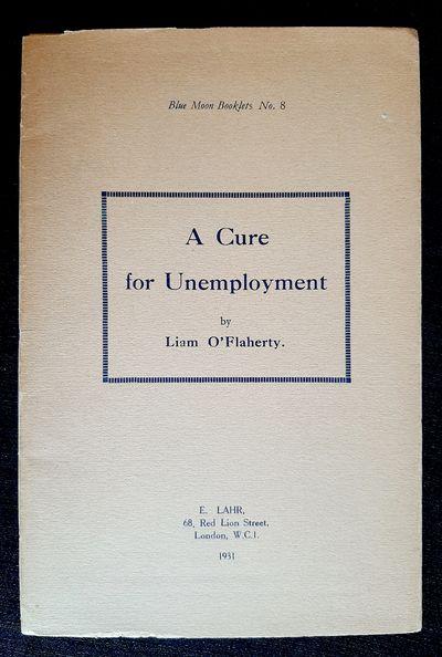 A Cure for Unemployment.