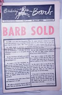 image of Berkeley Barb: vol. 9, #3 (#205) July 16 - 24, 1969: Barb Sold