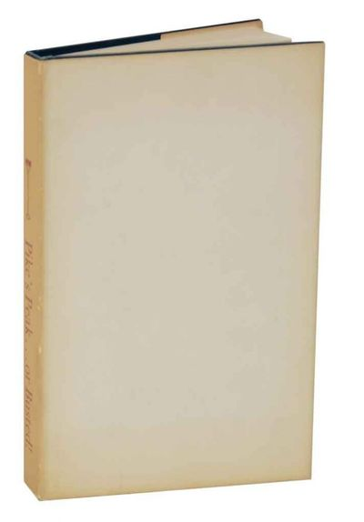 Evanston, IL: The Branding Iron Press, 1954. First edition. Hardcover. 141 pages. Number 9 from an e...