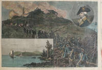 Mad Anthony Wayne and the Capture of Stony Point - The Scene in War and in Peace), a double page spread from Harper's Weekly