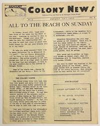 image of Colony News. Vol. 6 no. 13 (August 23, 1935)