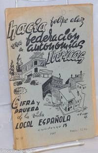 image of Cifra y prueba de la vida local Española